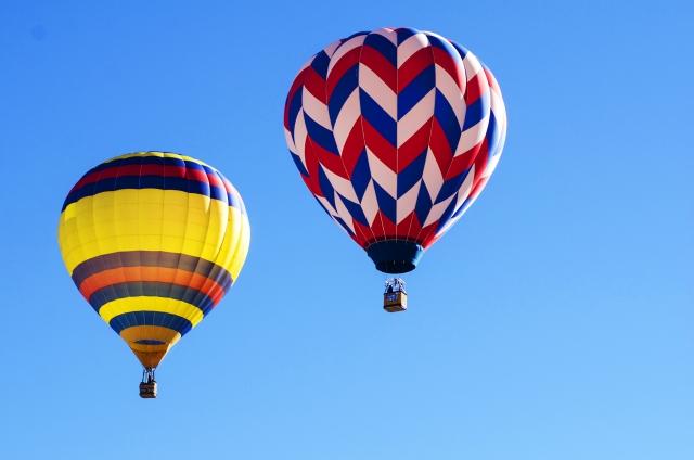 おだわら諏訪の原公園熱気球