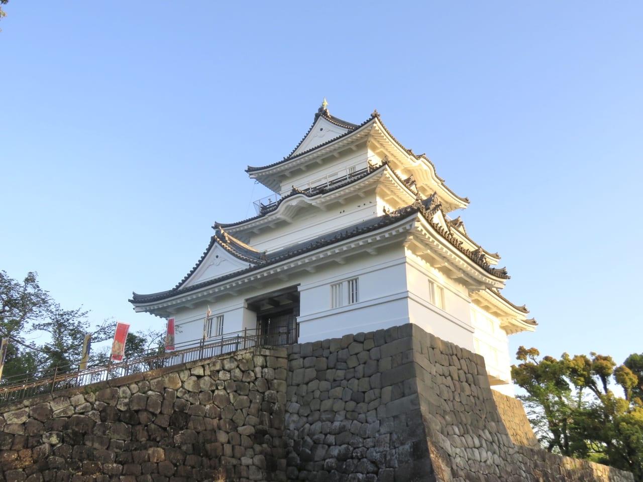 日本最強の城小田原城