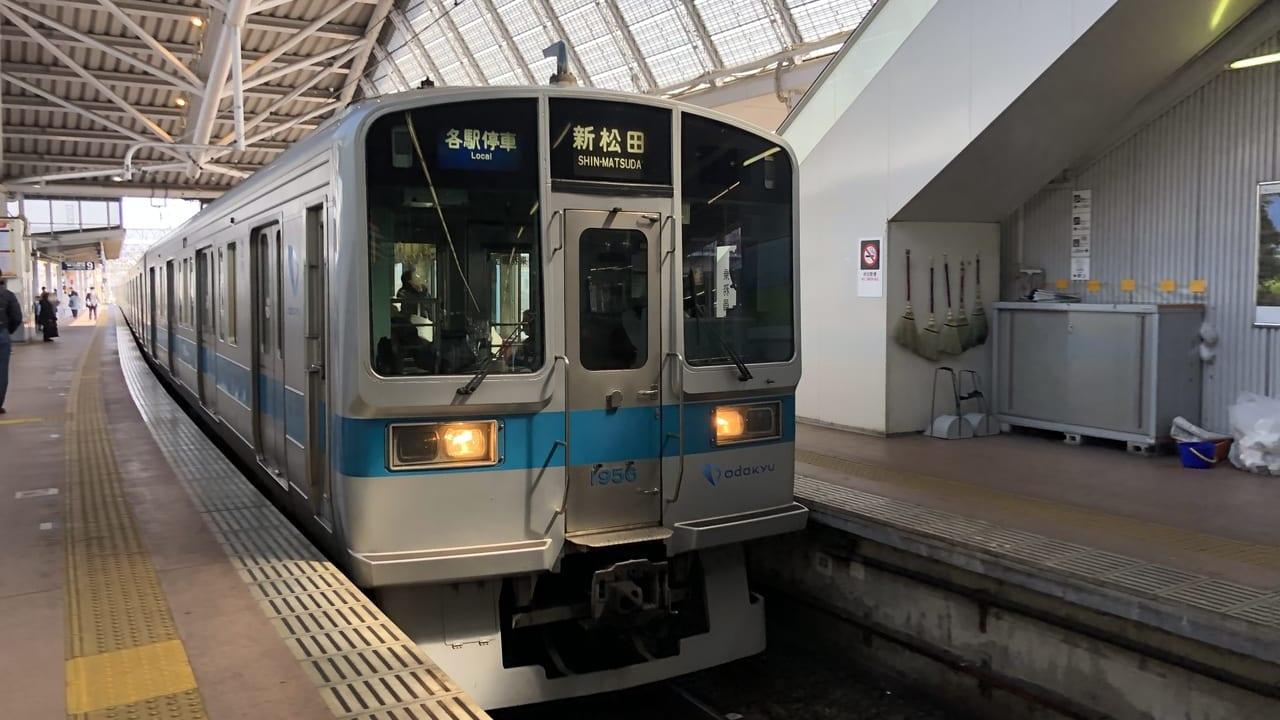 小田急ダイヤ改正2020